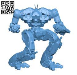 Supernova Prime for Battletech – Robot H000654 file stl free download 3D Model for CNC and 3d printer