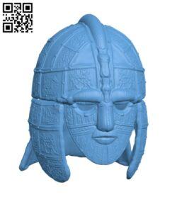 Sutton Hoo Helmet H000801 file stl free download 3D Model for CNC and 3d printer