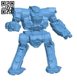THG-11EB Thug for Battletech – Robot H000926 file stl free download 3D Model for CNC and 3d printer
