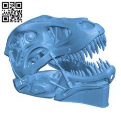 Terminator REX H000924 file stl free download 3D Model for CNC and 3d printer