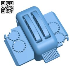 The Torture Toaster H000775 file stl free download 3D Model for CNC and 3d printer