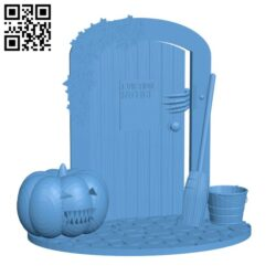 The hallowen goal door H001070 file stl free download 3D Model for CNC and 3d printer