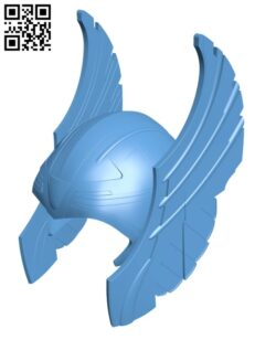 Thor's Helmet H000805 file stl free download 3D Model for CNC and 3d printer