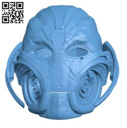 Ultron Mask H001073 file stl free download 3D Model for CNC and 3d printer