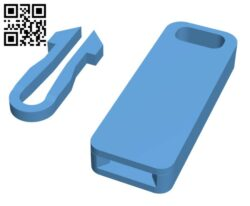 Universal Zip Toggle  H000545 file stl free download 3D Model for CNC and 3d printer