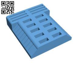 Usb holder H000897 file stl free download 3D Model for CNC and 3d printer
