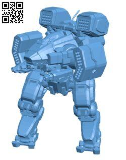 VKG-2F Viking for Battletech – Robot H000898 file stl free download 3D Model for CNC and 3d printer