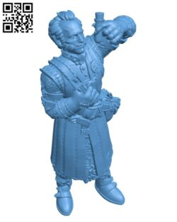 Vampire and alchemist  H000546 file stl free download 3D Model for CNC and 3d printer
