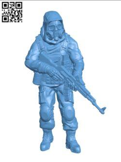 Veteran Zone Stalker H000777 file stl free download 3D Model for CNC and 3d printer