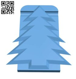 Xmas Card Hanger Clip H001198 file stl free download 3D Model for CNC and 3d printer