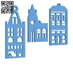 Xmas Decorations H001012 file stl free download 3D Model for CNC and 3d printer