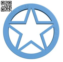 Xmas Star H001016 file stl free download 3D Model for CNC and 3d printer