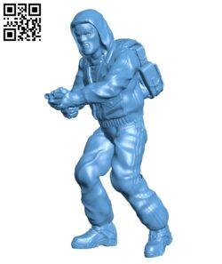 Zone Bandit H000604 file stl free download 3D Model for CNC and 3d printer